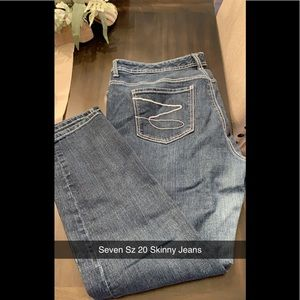 Seven Size 20 Skinny Jeans